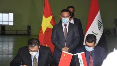 صورة اللقاح الصيني ضد كورونا يصل إلى العراق