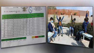 صورة العتبة الحسينية تخرج الدفعة الأولى من فئة المكفوفين للصف السادس الابتدائي