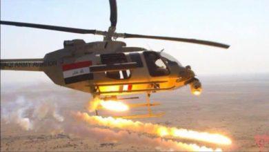 صورة طيران الجيش العراقي يقصف 6 أهداف إرهـ،ـابية في ديالى