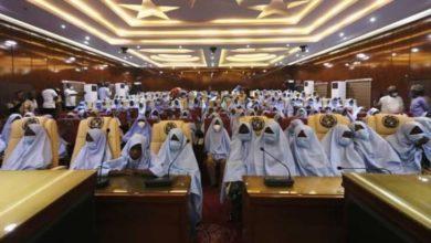 صورة إطلاق سراح 279 تلميذة خطفن في نيجيريا (صور)