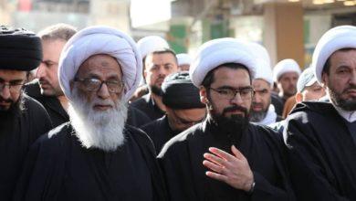 صورة ممثل المرجع النجفي: المرجعية الشيعية وضعت مسماراً في نعش مشروع التطبيع
