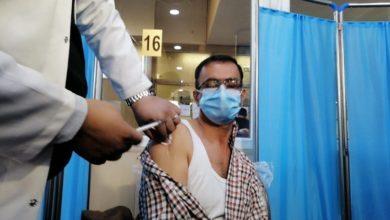 صورة العراق: بدء عمليات التطعيم ضد كورونا في بغداد (صور)