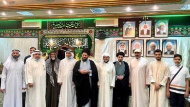 صورة آية الله السيد أحمد الشيرازي يشارك الكويتيين برامجهم العبادية خلال الشهر الفضيل
