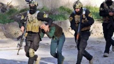 صورة الإطاحة بـ(أبو حارث) أحد ناشطي د1عش الإرهـ،ـابي في نينوى