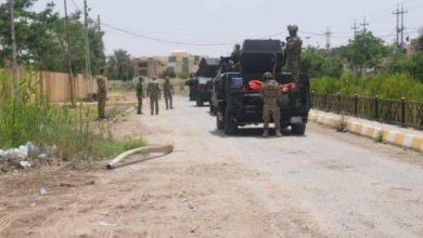 صورة إصابة 4 جنود عراقيين بينهم ضابط حصيلة تفجير عبوة ناسفة في ديالى