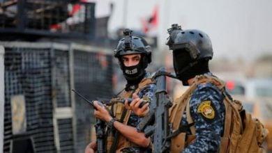 صورة انفجار عبوتين ناسفتين في سامراء وإصابة شرطي
