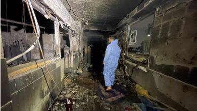 صورة الداخلية تعلن ارتفاع حصيلة ضحايا حريق مستشفى ابن الخطيب إلى 82 شهيداً و110 جرحى