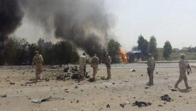 صورة إصابة 6 منتسبين عراقيين بانفجار عبوة في ديالى