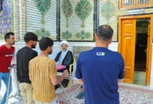 صورة طيلة أيام شهر رمضان العظيم.. محطات استفتائية لخدمة الزائرين في الحرم العلوي الطاهر