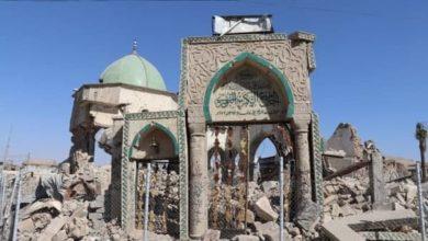 صورة يونسكو: مهندسون مصريون يعيدون بناء جامع النوري في الموصل