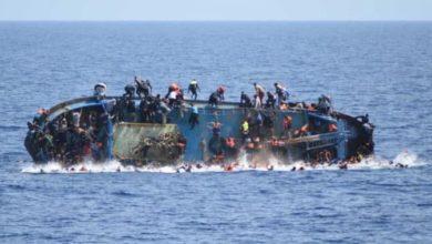 صورة غرق 40 مهاجراً إفريقياً قبالة سواحل تونس