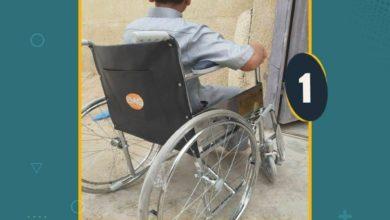 صورة مؤسسة مصباح الحسين عليه السلام في كربلاء المقدسة توزع الكراسي المتحركة للاطفال وكبار السن