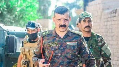 صورة استشهاد ضابط عراقي وإصابة عدد من قوات الرد السريع في ديالى