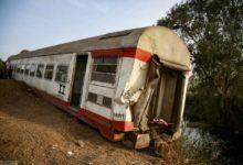 صورة 11 قتيلاً ونحو مئة جريح في حادث قطار في مصر (صور)