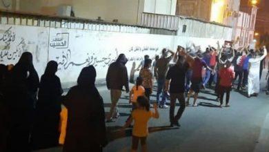 """صورة تواصل مظاهرات البحرين """"لليلة العشرين"""" تضامناً مع النشطاء المسجونين"""