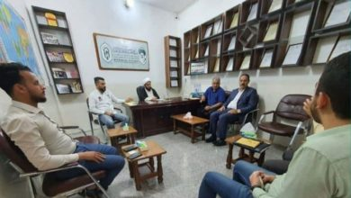 صورة مؤسسة مصباح الحسين عليه السلام تبحث آخر تطورات مشروع ميثاق حماية أيتام العراق