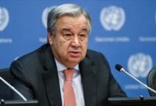 صورة غوتيريش يدعو لفرض ضريبة على المليارديرات الذين جنوا أموالاً في أثناء جائحة كورونا