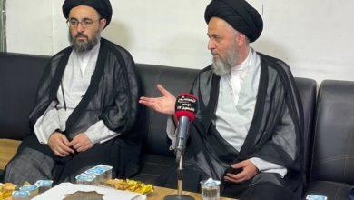 صورة آية الله السيد مرتضى الشيرازي يثمّن جهود مجموعة الإمام الحسين (عليه السلام) الإعلامية
