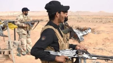صورة استشهاد وإصابة 4 مقاتلين بتعرض إرهـ،ـابي في سامراء