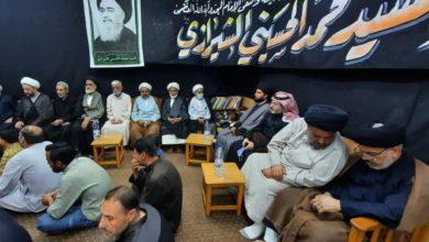 صورة سوريا: جموع حاشدة من المؤمنين تحيي الذكرى السنوية لرحيل الإمام الشيرازي