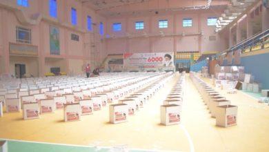 صورة مؤسسة مصباح الحسين عليه السلام تعلن انتهاء توزيع 6000 سلة غذائية رمضانية في عدد من المحافظات العراقية