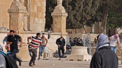 صورة القدس: تجدد المواجهات في ساحات الأقصى .. ومجلس الامن الدولي يعقد جلسة طارئة