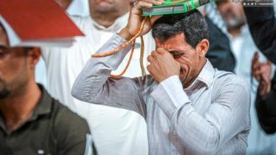 صورة مراسيم إحياء ليالي القدر عند المرقد العلوي الطاهر (صور)