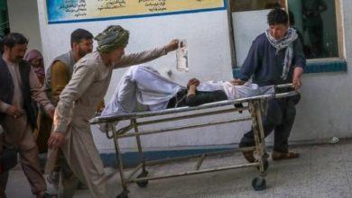 صورة مكتب المرجع الشيرازي يدين جريمة تفجير مدرسة سيد الشهداء عليه السلام في كابل