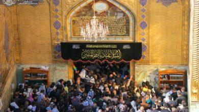 صورة العتبة العلوية المقدسة تعلن نجاح الخطة الخاصة بذكرى استشهاد الإمام علي عليه السلام