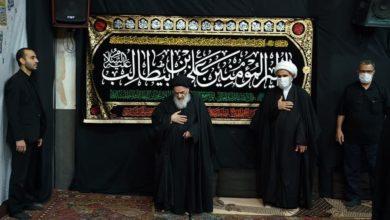 صورة لليلة الرابعة على التوالي.. تواصل مجلس العزاء بذكرى استشهاد الإمام علي عليه السلام في بيت المرجع الشيرازي بقم المقدسة