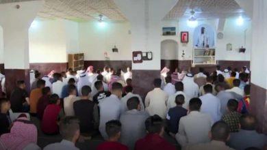 صورة العوائل الشيعية والأيزيدية في سنجار تحتفل معاً بعيد الفطر المبارك