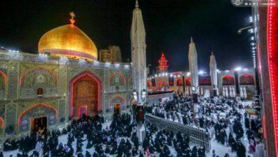 صورة العتبة العلويَّة المقدسة تستعد لإحياء ذكرى استشهاد الإمام علي عليه السلام