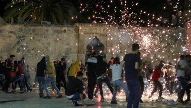 صورة إصابة 163 فلسطينياً إثر اعتداء إسرائيلي على المصلين في المسجد الأقصى (صور)