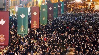 صورة إيران: حضور حاشد لإحياء الشعائر العلوية وأعمال ليلة القدر المباركة