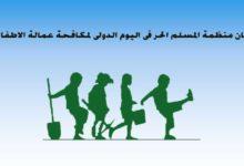 صورة المسلم الحر: إحصاءات رصد عمالة الأطفال تشير ارتفاعاً خطيراً في الذين يزجون قسرياً او اضطرارياً للعمل