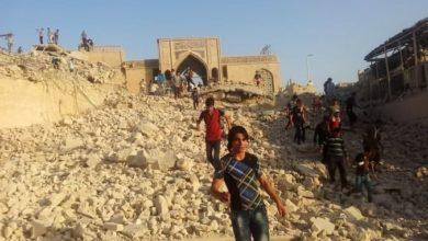 صورة الشروع بإعادة إعمار مرقد ومسجد النبي يونس عليه السلام في نينوى