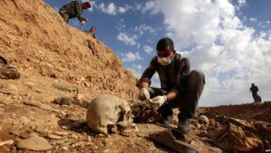 """صورة العراق: اكتشاف مقبرة جماعية """"كبيرة جداً"""" في ديالى"""