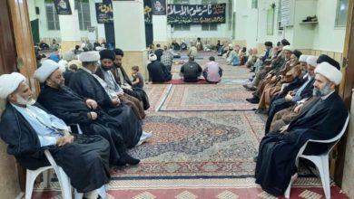 صورة الحوزة الزينبية في سوريا تحيي ذكرى شهادة الإمام الصادق عليه السلام