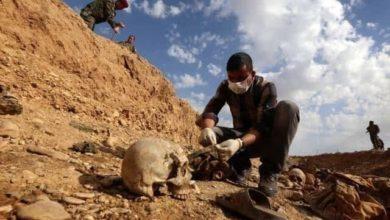 صورة بعد 8 أعوام على ارتكاب المجزرة.. الكشف عن أعداد الجثث المنتشلة من سجن بادوش في الموصل