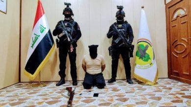 صورة القوات العراقية تلقي القبض على إرهـ،ـابيين خطرين في كركوك