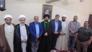 صورة مسؤولو عدة مكاتب ومؤسسات تابعة للمرجعية الشيرازية يجدّدون العهد على إقامة وإحياء الشعائر الحسينية