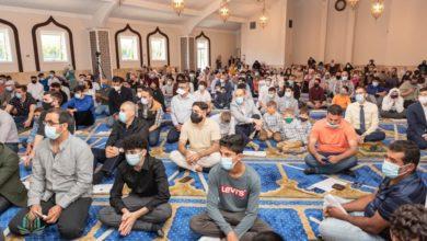 صورة الجالية الشيعية في دول العالم تحيي ذكرى ولادة الإمام الرضا (عليه السلام)