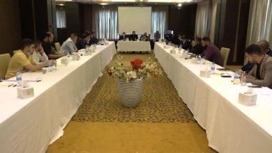 صورة مؤسسة مصباح الحسين عليه السلام تشارك في جلسة لمكتب رئيس الوزراء حول تشكيل لجان حوار مجتمعية في كربلاء المقدسة