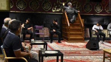 صورة الجالية المسلمة في السويد تقيم العزاء بذكرى شهادة الإمام الصادق عليه السلام