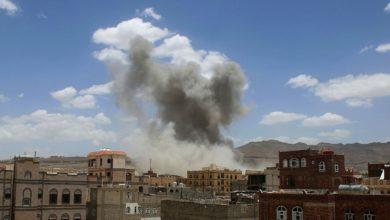 صورة استشهاد واصابة 9 مدنيين في قصف سعودي خلال 4 ساعات على صعدة