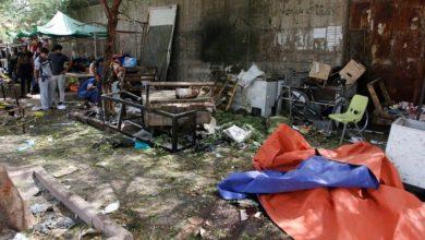 صورة 15 جريحاً بانفجار عبوة ناسفة في مدينة الصدر شرقي بغداد