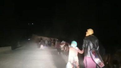 صورة نزوح جماعي لشيعة أفغانستان لحماية أرواحهم من تمرد طالبان الإرهـ،ـابية