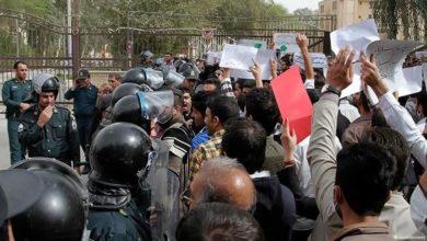 صورة اللاعنف العالمية تدعو السلطات الإيرانية لتلبية مطالب المحتجين وإطلاق سراح السجناء