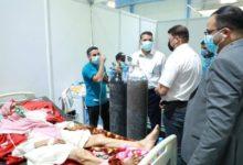 صورة الصحة العراقية تدعو إلى الالتزام بالإجراءات الصحية والوقائية وأخذ اللقاح المضاد لكورونا