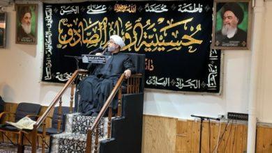 صورة مؤسسة الإمام الصادق عليه السلام في كوبنهاجن تحيي ذكرى استشهاد الإمام الجواد عليه السلام